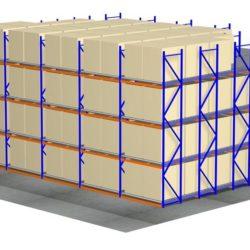 carton and pallet live storage